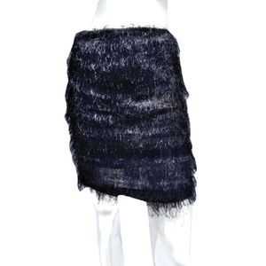 Dresses & Skirts - Women's Eyelash Fringe Mini Skirt 2 (SKU 000133)